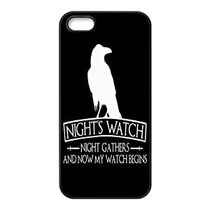 Hot TV Play Game of Thrones Theme Pattern Silicone Rubber Non-slip Protective Cover Case Skin For Apple iPhone 5 5S