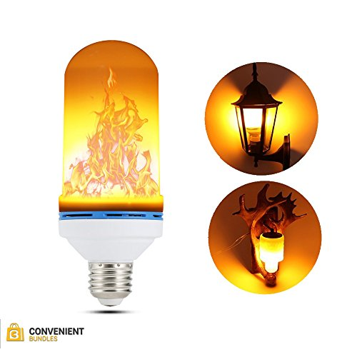 Cheap  LED Flame Effect Light Bulb (Single E26) Simulated, Dimmable Flaming Atmosphere Lighting..
