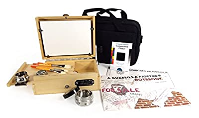 Guerrilla Painter 6 by 8-Inch Thumbox Oil and Acrylic Plein Air Kit
