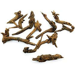 SubstrateSource Aquarium Pacific Driftwood - Small (10 Pack)