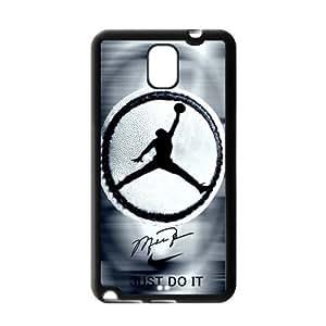 HD pic Picture Creative Simple NBA Chicago Bulls Michael Jordan Samsung Galaxy Note 3 Case Cover TPU NIKE JUST DO IT