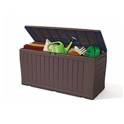 Keter Patio Plastic Cushion Storage Box Container