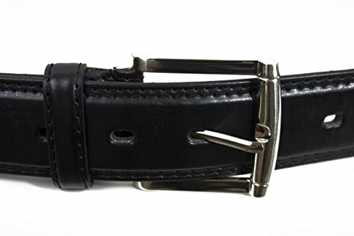 Leatherboss Jeans Big and Tall Belt (64, Black) (Big Tall Belt)