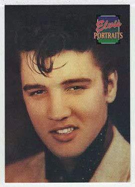 Amazoncom Elvis Portraits Trading Card The Elvis Collection