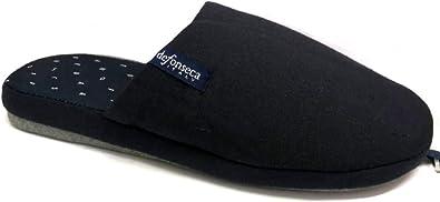 de fonseca Pantofole Ciabatte Uomo in Cotone MOD Roma Top E M622 Blue