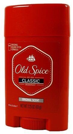 Old Spice Classic Deodorant, Original Round Stick Formula, Original Scent, 2.25 Oz (Pack of 6) by Old Spice
