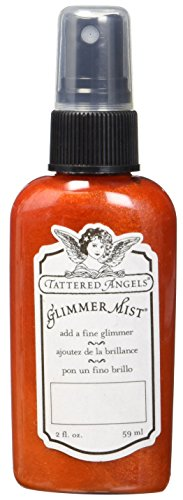 TATTERED ANGELS 22295 Glimmer Mist Water Based Paint, Halloween Orange]()