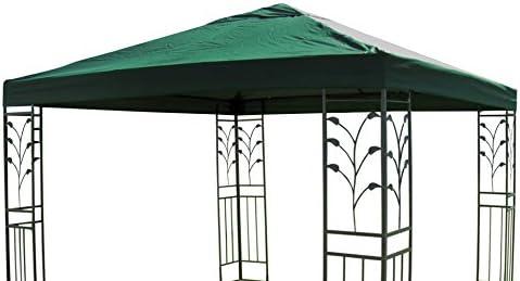 Carpa para techo Lukas tejado para carpa (3 x 3 m verde: Amazon.es ...