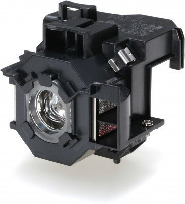 V13H010L41 / ELPLP41 - Lamp with Housing for Epson PowerLite S5 / S6 / 77C / 78, EMP-S5, EMP-X5, H283A, HC700, H284B, EMP-X52, EMP-S52, EH-TW420 Projectors by FI Lamps