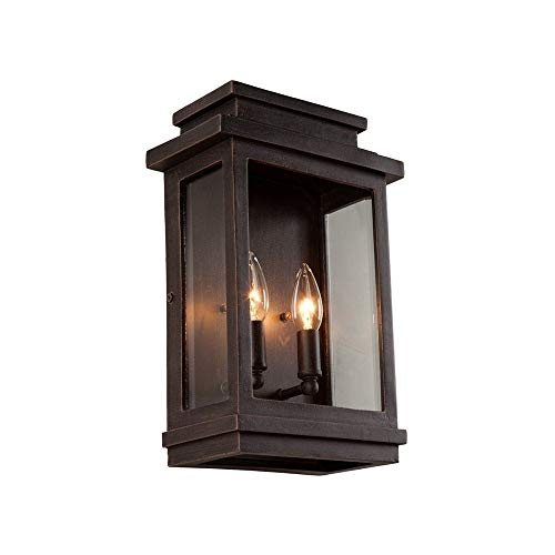 (Artcraft Lighting Fremont Outdoor Wall Sconce, Oil Rubbed Bronze)