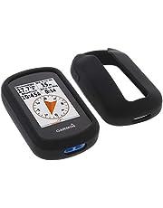 foto-kontor Hoes voor Garmin eTrex Touch 35 Siliconen beschermhoes zwart