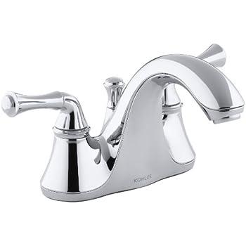 Kohler K 10270 4 Cp Forte Bathroom Sink Faucet Polished
