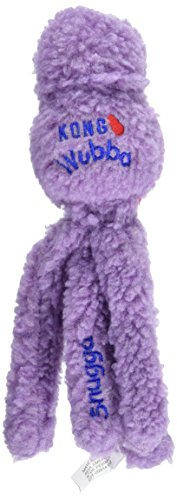 KONG Snugga Wubba Dog Toy, Small, Colors Vary