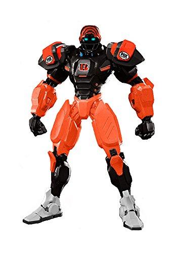 """Cincinnati Bengals 10"""" Team Cleatus FOX Robot NFL Football Action Figure Version 2.0"""