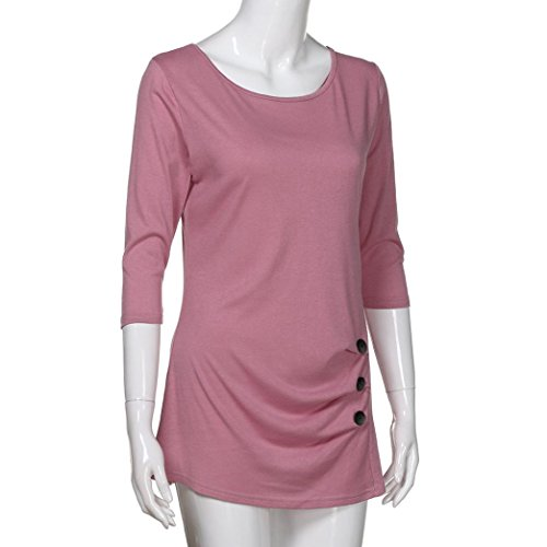 Rosa Ballerine Shirt145 SANFASHION Multicolore Donna Damen Multicolore SANFASHION Bekleidung qw78F