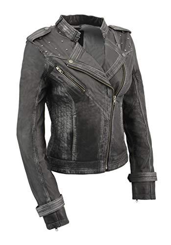 (Milwaukee Leather Women's Jacket BLACK 2X)