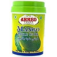 Ahmed Foods Mango Pickle en aceite, 400 g
