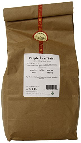 The Tao of Tea Purple Leaf Tulsi, 100% Organic Tulsi, ()