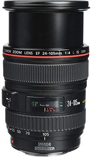 Canon EF 24-105mm f/4 L IS USM Lens for Canon EOS SLR Cameras – White Box (Bulk Packaging) 417qj6KQNPL
