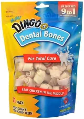 Dingo Dental Bones Dog Chews