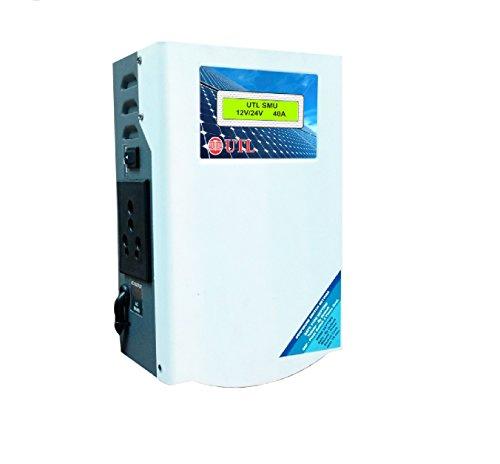 UTL Solar Charge Controller Hybrid SMU 12V Panel with 12V Inverter Battery, 24V Panel with 24 Volt Inverter Battery…