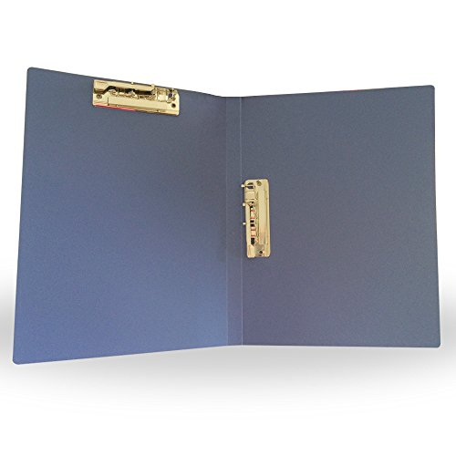 A4 Commercial File Folder/Commercial folder Double Strong Clip Double Clamp,Blue