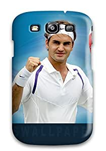 Hot New Super Strong Roger Federer Tpu Case Cover For Galaxy S3 8193078K58245641