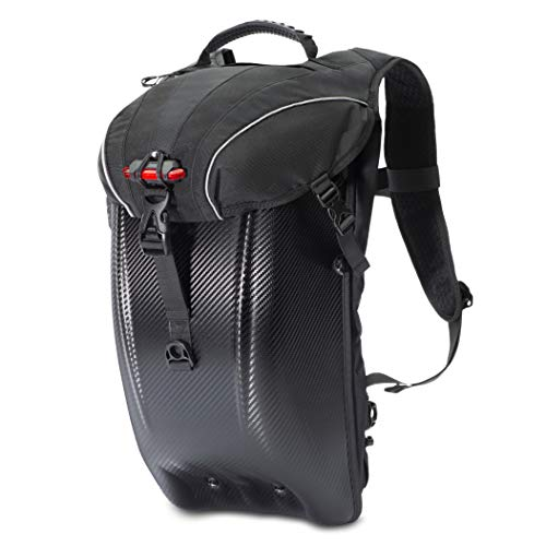 d47dbf432f39e7 ProtecVie Motorcycle Backpack | Water Resistant | Multi-Functional |  Skiing, Hiking, Biking