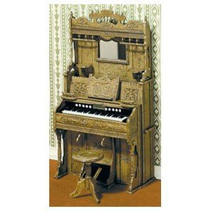 Dollhouse Miniature Miniature Miniature 1 12 Scale Chrysnbon Pump Organ Kit by Chrysnbon Miniatures ca590c