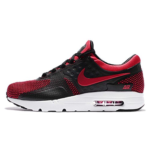 info for 77af6 3889e Galleon - Nike Mens Air Max Zero Essential University Red Fabric Size 6
