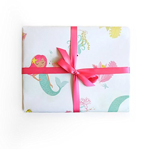 Sea Urchin Studio Gift Wrap Mermaid