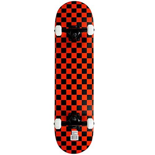 Skateboard, Black/Red, 7.75