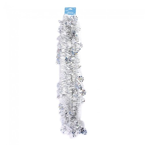 Holiday Essentials Glitz and Glam Winter Garland by