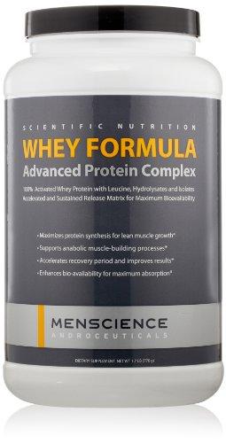 MenScience Androceuticals Whey Formula Advanced Protein Complex, 1.7 lb. ()