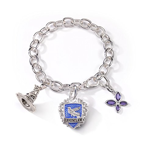 (The Noble Collection Lumos Harry Potter Ravenclaw Charm Bracelet)