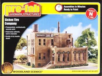 Woodland Scenics N KIT Sicken Tire Company WOOPF5204