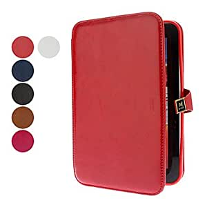 Buy PU Leather Case with Stand and Card Slot for Samsung Galaxy Tab 7.0 P3100 (Assorted Colors) , White