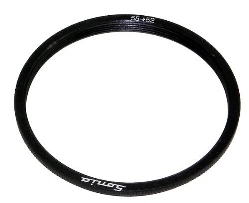 55mm to 52mm Step Down Ring Filter Stepping Adapter Sonia 55 52