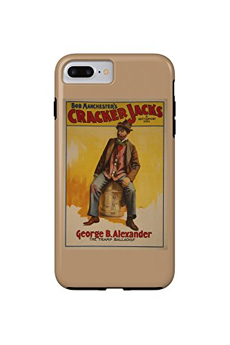 the-cracker-jacks-the-tramp-balladist-poster-iphone-7-plus-cell-phone-case-tough
