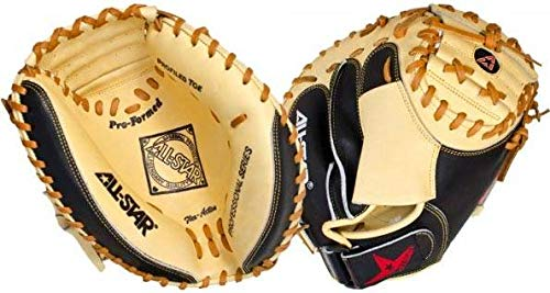 (All-Star Pro-Advanced 33.5 Inch CM3100SBT Baseball Catcher's Mitt)