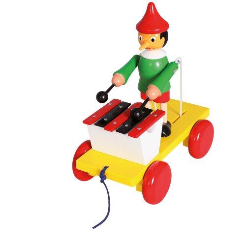 Bino Pull-Along Pinocchio with Xylophone