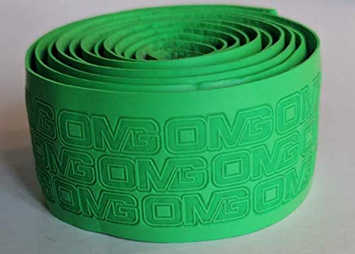 Oh My Grips Cushioned Hand Grip Wrap Tape OMG | Premium Quality, Great for All Bats and Racquets: Baseball, Softball, Tennis, Badminton, Cricket, Even Ping-Pong Paddles! (Dark Green)