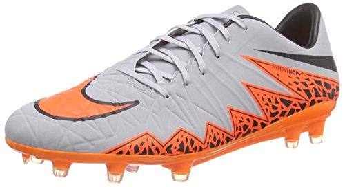 Nike Men's Hypervenom Phatal II Fg Wolf Grey/Total Orange/Blk/Blk Soccer Cleat 12 Men (Nike Football 90)
