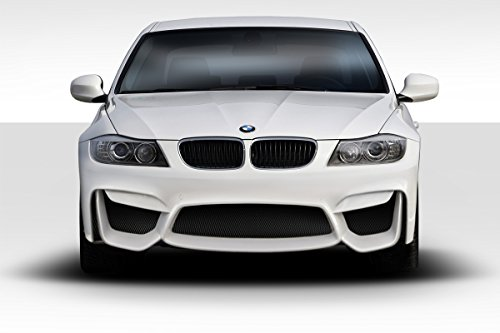 Duraflex Replacement for 2006-2008 BMW 3 Series E90 4DR M4 Look Front Bumper - 1 -Piece ()