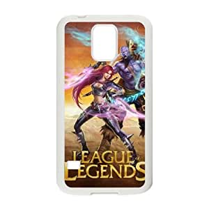 Plastic Durable Cover Dymr League Of Legends For Samsung Galaxy S5 I9600 Cases Cell phone Case