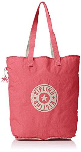Kipling Damen Hip Hurray 5 Schultertaschen, Pink (Shell Pink Q86), 40x40x14 cm