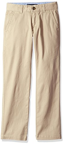 Tommy Hilfiger Big Boys Academy Pant, Travel Khaki, 12