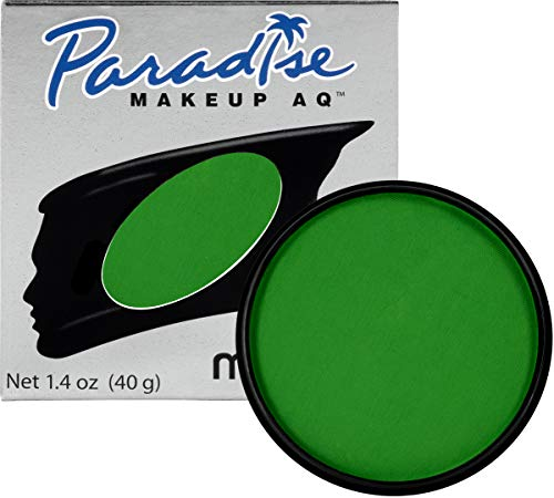 Mehron Makeup Paradise Makeup AQ Face & Body Paint (1.4 oz) (Amazon Green) -