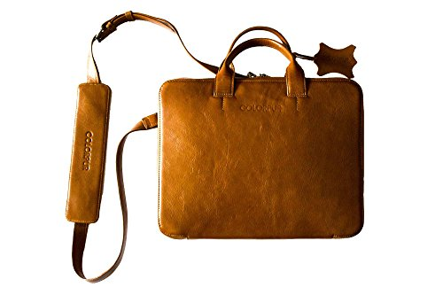 Colorpur Laptop Bag And Organizer (With Shoulder Strap) Leather by Colorpur