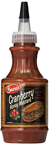 (Beano's Mustard, Cranberry Honey, 8 Ounce (Pack of 12))